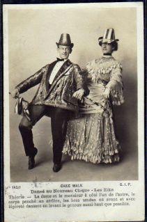 Les Elks-c. 1903-Nouveau Cirque-cakewalk postcard series 145-1 (1)-ct43-f12