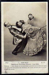 Les Elks-c. 1903-Nouveau Cirque-cakewalk postcard series 145-3 (1)-ct44-fx10