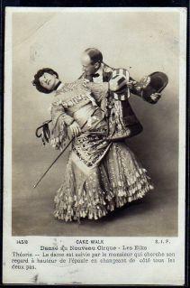 Les Elks-c. 1903-Nouveau Cirque-cakewalk postcard series 145-8 (1)-ct42-f2-sh4