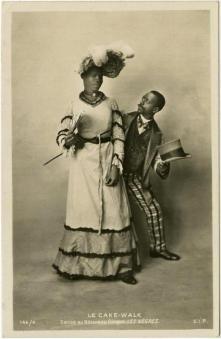 Les Nègres-c. 1903 cakewalk postcard series 144-4 (1)-f9