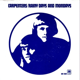 1971 Rainy Days and Mondays-Carpenters-AM 1260-sleeve(front)