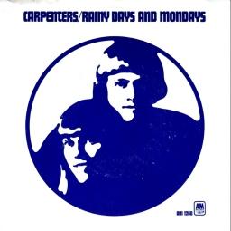 1971 Rainy Days and Mondays-Carpenters-AM 1260-sleeve(front)