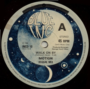 1980 Walk On By-Motion-Blue Inc INCD 10