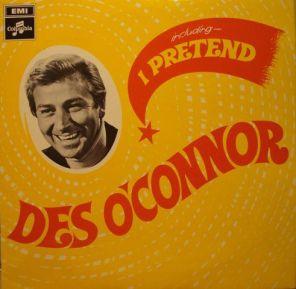 1968 I Pretend (LP) Des O'Connor, Columbia (UK) SCX 6295