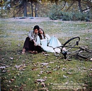 1969 Rain Drops Keep Fallin' On My Head (LP) B.J. Thomas, Scepter 580, gatefold inside cover