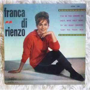 1963 T'en Vas Pas Comme Ça (EP)-Franca di Rienzo-Columbia (France) ESRF 1399 (1)