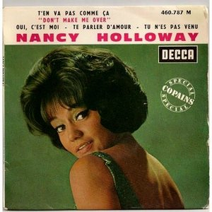 1963-T'en Vas Pas Comme Ca (EP) Nancy Holloway-Decca (FR) 460.787 (d15)
