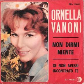 1964 Non Dirmi Niente-Ornella Vanoni-Ricordi (Italy) SRL 10-361