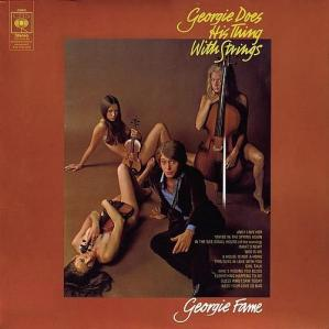 1969 Georgie Does His Thing With Strings (LP) - Georgie Fame, CBS (UK) S 63650