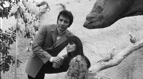 Herb Alpert and first wife Sharon Mae Lubin, c. 1968
