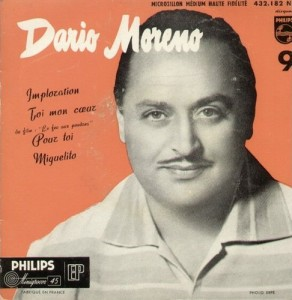 1957 Imploration (EP) Dario Moreno- Philips 432.182 NE