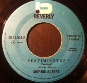 1974 Sentimientos-Morris Albert-(Brazil) Beverly 45-13.508