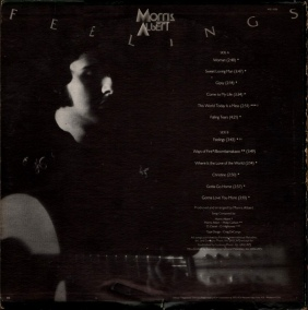 1975 Feelings-Morris Albert (LP) RCA Victor APL1-1018 (back)-d30