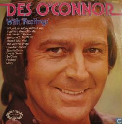 1975 With Feelings LP-Des O'Connor, Hallmark (UK) HMA 255