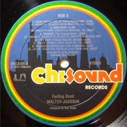 1976 Feeling Good-Walter Jackson-LP-Chi Sound Records CH-LA656-G-label, side 2