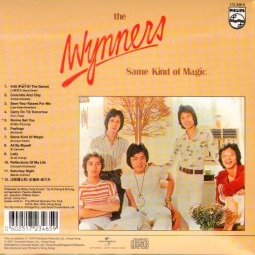 1976 Same Kind of Magic-Wynners-LP-Philips (Hong Kong) 6380 006 (back)