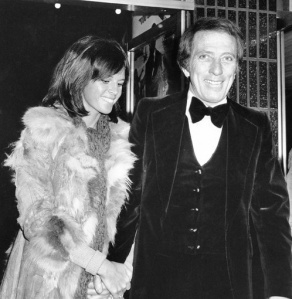 Andy Williams & Claudine Longet-AP photo, 19 December 1974