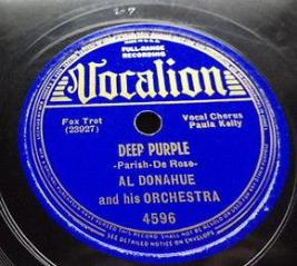 1939 Deep Purple-Al Donahue-Vocalion 4596 (c1)