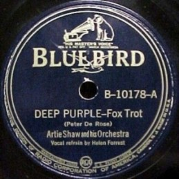 1939 Deep Purple-Artie Shaw-Bluebird 10178