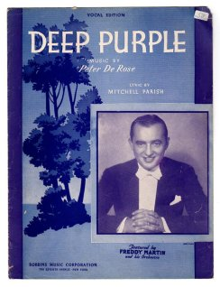 1939 Deep Purple (DeRose, Parish)-feat. Freddy Martin