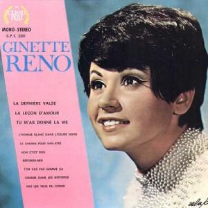 1969 Ginette Reno (LP)-Ginette Reno-Grand Prix (Canada) GPS 3301
