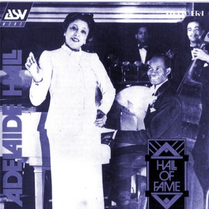 Adelaide Hall and Fela Sowande-ASV album cover