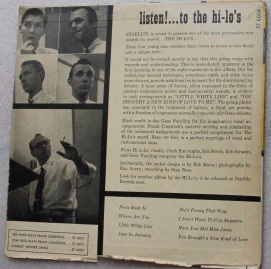 1955 Listen!-Hi-Lo's-Starlite Records ST-6004-(2) back-c1