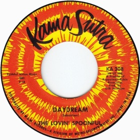 1966 Daydream-Lovin' Spoonful-Kama Sutra KA 208 (first issue, A-side)
