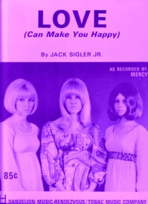 1969 Love (Can Make You Happy-sheet music-1-purpt