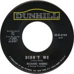 1968 Didn't We-Richard Harris-B-side of45-D-4134