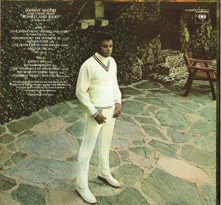 1969 Love Theme From Romeo And Juliet (A Time For Us)-Johnny Mathis-Columbia CS 9909-back