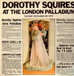 1971 Dorothy Squires Live At The London Palladium Sunday December 6th 1970, (UK) President Records PTLS 1043,4 (2)