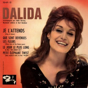 1962 Je l'attends (EP)-Dalida-(France) Barclay 70 471-front cover-1a