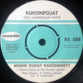 1965 Minne Kukat Kadonneet-Kukonpojat-Scandia KS 588