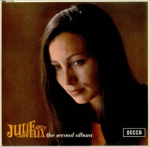 1965 Second Album-Julie Felix-(UK) Decca LK 4724