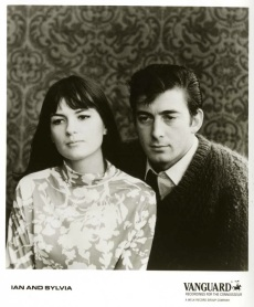 Ian and Sylvia-Vanguard promotional photo, 1964 (1a)