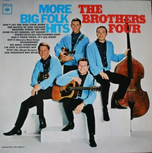 1964 More Big Folk Hits-Brothers Four-Columbia CL 2213 (Mono), CS 9013 (Stereo)