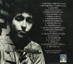 2002 The Gaslight Tapes 1962-Bob Dylan-Home(r) Entertainment Network ‎HEN 030