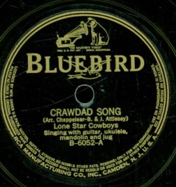 1933 Crawdad Song-Lone Star Cowboys-Bluebird B-6052