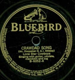 1933 Crawdad Song-Lone Star Cowboys-Bluebird B-6052