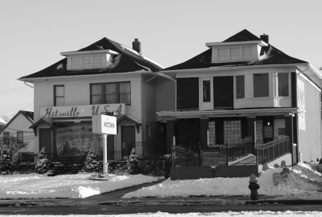 Motown -- Hitsville U.S.A., with snow