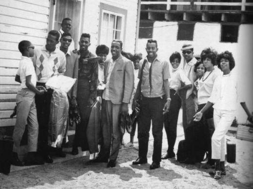 Motortown Revue group photo, c.1962-1963