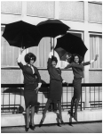 Supremes at EMI House, London, October 1964 (2)