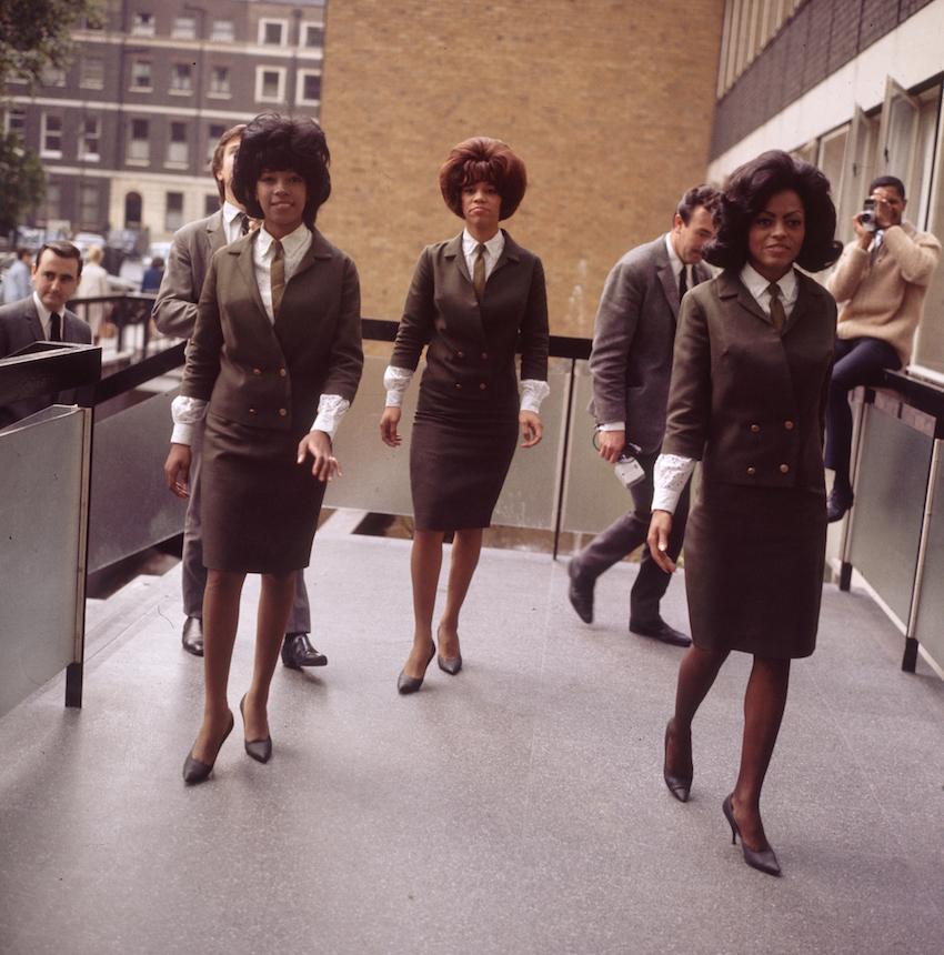Supremes at EMI House, London, October 1964 (3)
