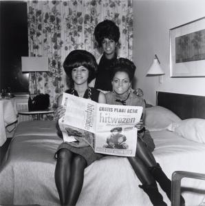 Supremes in Amsterdam, 1964 by Ben van Meerendonk
