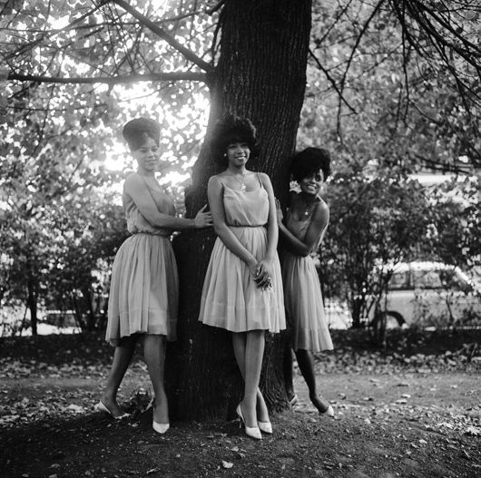 Supremes, October 1964, Manchester Square, London (3)