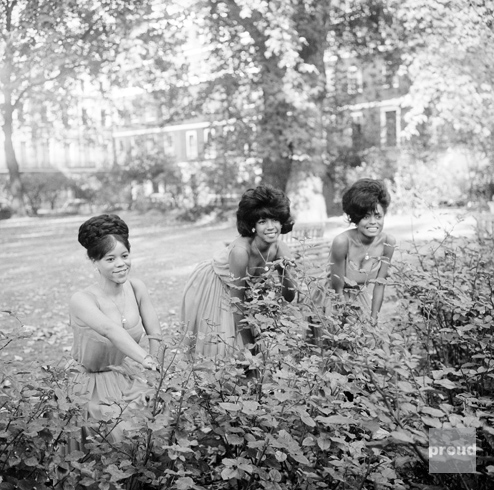 Supremes, October 1964, Manchester Square, London (4)