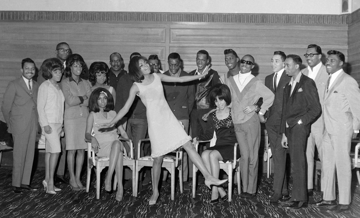 motortown revue group photo spring 1965 2a songbook