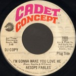1968 I'm Gonna Make You Love Me-Aesops Fables-Cadet Concept 7005 (DJ Copy)
