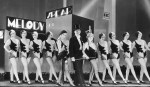Broadway Melody (1929)-Anita Page, Charles King, and Bessie Love in dress rehearsal scene(2)